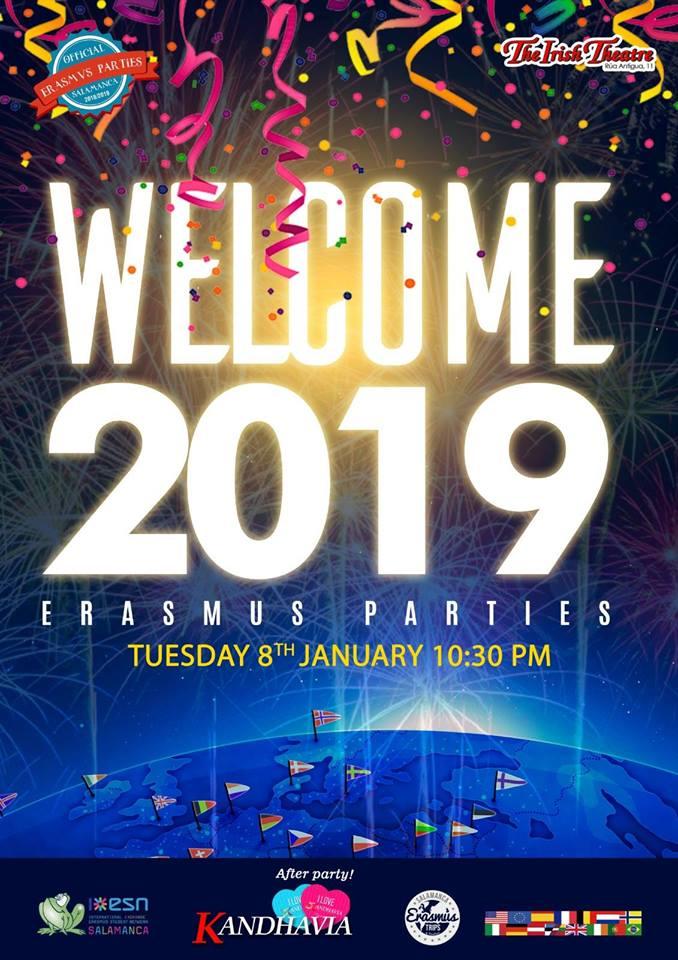 The Irish Theatre Welcome 2019 Erasmus Parties Salamanca Enero