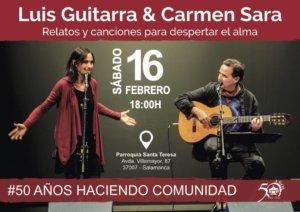 Iglesia de Santa Teresa Luis Guitarra & Carmen Sara Salamanca Febrero 2019