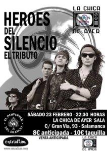 La Chica de Ayer El Despertar del Silencio Salamanca Febrero 2019