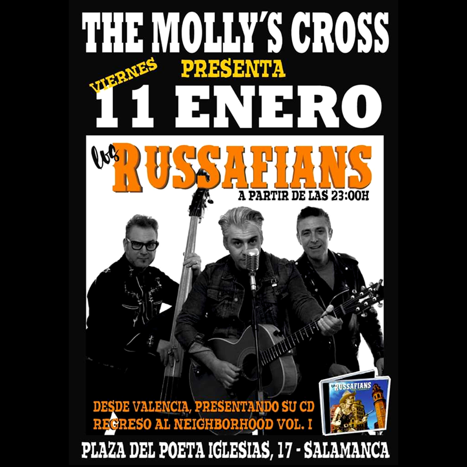 The Molly's Cross Los Russafians Salamanca Enero 2019