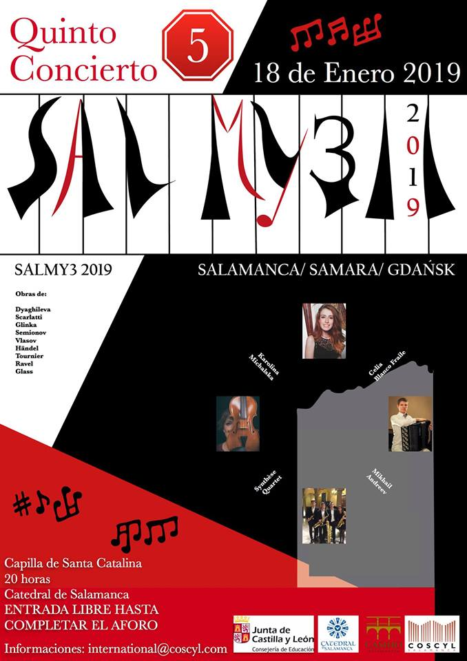 Catedral Vieja Festival Salmy3 18 de enero de 2019 Salamanca