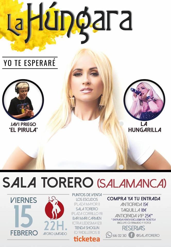 Sala Torero La Húngara Salamanca Febrero 2019
