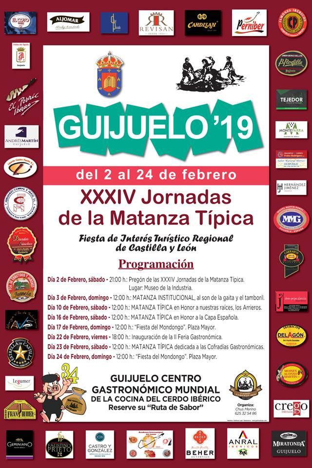 Guijuelo XXXIV Jornadas de la Matanza Típica Febrero 2019