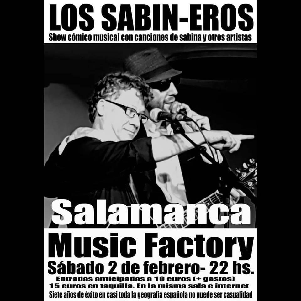 Music Factory Los Sabineros Salamanca Febrero 2019