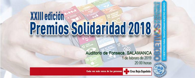 Hospedería Fonseca XXIII Premios Solidaridad Cruz Roja Salamanca Febrero 2019