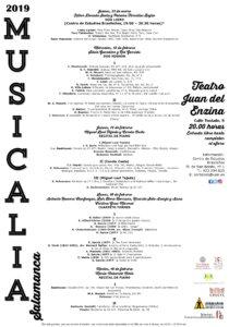 Centro de Estudios Brasileños Musicalia 2019 Salamanca