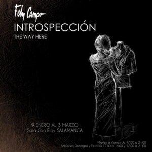 San Eloy Introspección The way here Salamanca Enero febrero marzo 2019