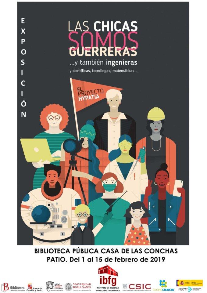 Casa de las Conchas Las chicas somos guerreras... y también ingenieras (y científicas, tecnólogas, matemáticas) Salamanca Febrero 2019