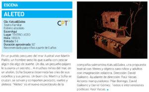Teatro Liceo Aleteo Salamanca Enero 2019