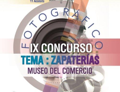 El Museo del Comercio convoca el IX Concurso Anual de Fotografía.