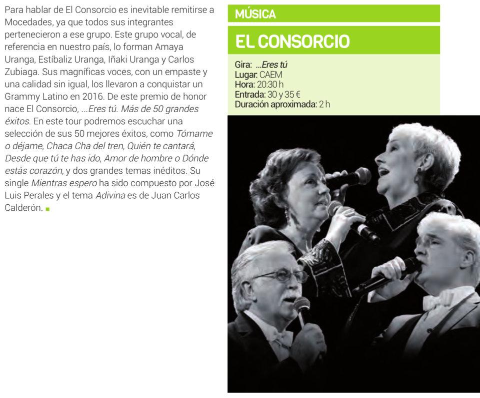 Centro de las Artes Escénicas y de la Música CAEM El Consorcio Salamanca Febrero 2019