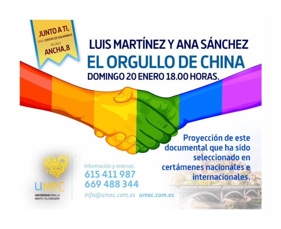 Universidad para la Mente y el Corazón El orgullo de China Salamanca Enero 2019