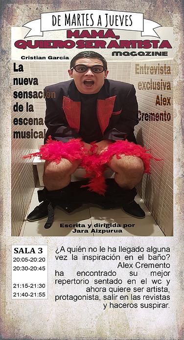 La Malhablada Mamá, quiero ser artista Salamanca Enero 2019