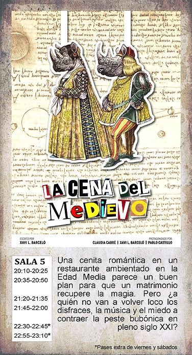 La Malhablada La cena del Medievo Salamanca Enero 2019