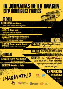 CIFP Rodríguez Fabrés IV Jornadas de la Imagen Salamanca Enero 2019