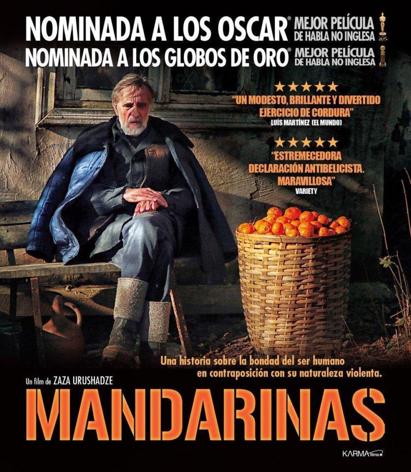 Filmoteca de Castilla y León Mandarinas Salamanca Enero 2019