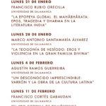 Programa Casa de las Conchas Clásicos de Grecia, Roma y la India para un mundo cambiante Salamanca Enero febrero 2019