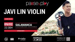 Centro Comercial Vialia Javi Lin Violín Salamanca Febrero 2019