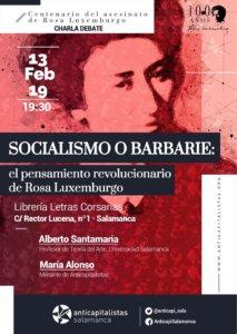 Letras Corsarias Alberto Santamaría y Maria Alonso Salamanca Febrero 2019
