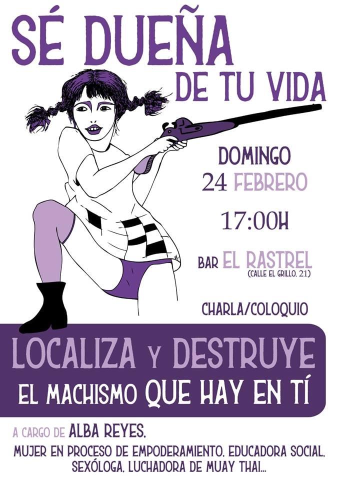 El Rastrel Alba Reyes Salamanca Febrero 2019