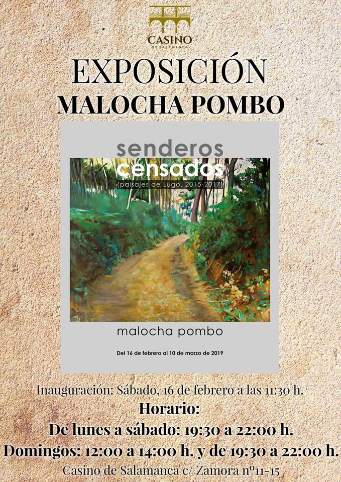 Casino de Salamanca Malocha Pombo Febrero marzo 2019