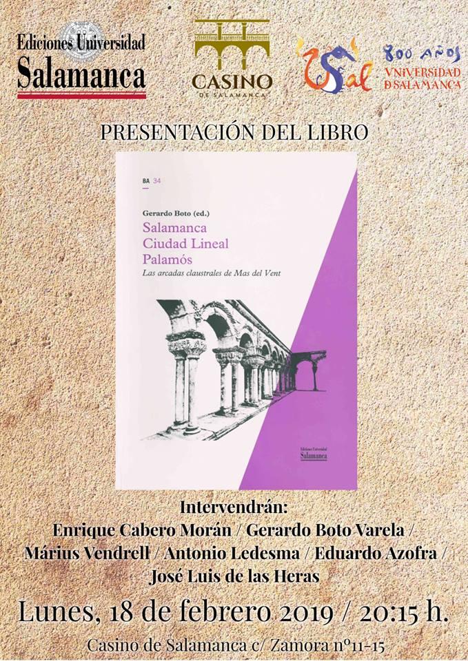 Casino de Salamanca Gerardo Boto Varela Febrero 2019