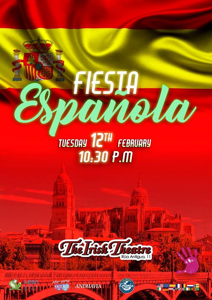 The Irish Theatre Fiesta Española Salamanca Febrero 2019