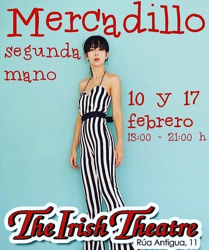 The Irish Theatre Mercadillo de Segunda Mano Salamanca Febrero 2019