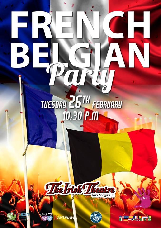 The Irish Theatre French Belgian Party Salamanca Febrero 2019
