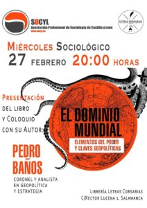 Letras Corsarias Pedro Baños Salamanca Febrero 2019