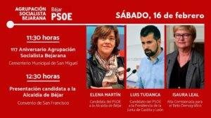 Béjar Agrupación Socialista Bejarana CXVII Aniversario Febrero 2019