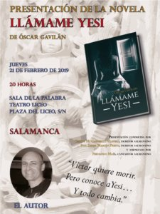 Teatro Liceo Llámame Yesi Salamanca Febrero 2019