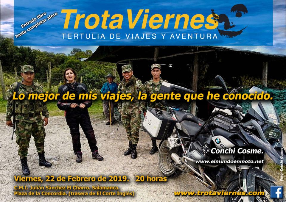 Julián Sánchez El Charro Trotaviernes Conchi Cosme Salamanca Febrero 2019