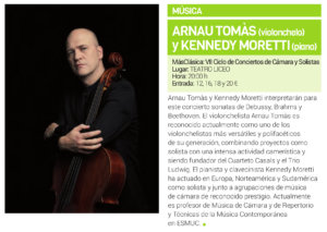 Teatro Liceo Arnau Tomás y Kennedy Moretti Salamanca Febrero 2019