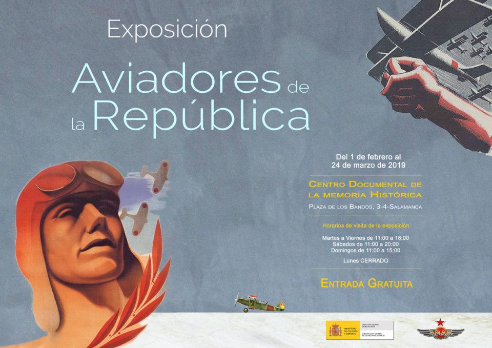 Centro Documental de la Memoria Histórica CDMH Aviadores de la República Salamanca 2019