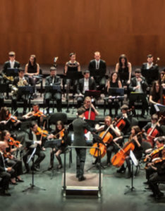 Centro de las Artes Escénicas y de la Música CAEM Joven Orquesta Sinfónica Ciudad de Salamanca Febrero 2019