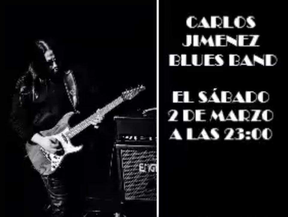 La Espannola Carlos Jiménez Blues Band Salamanca Marzo 2019