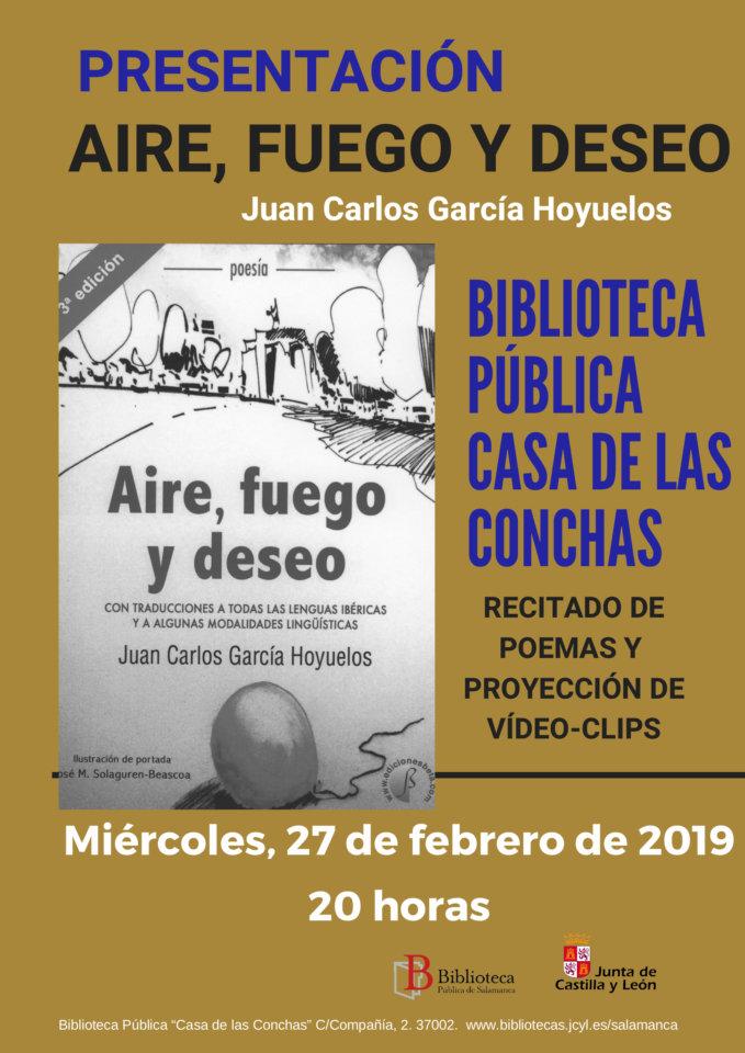 Casa de las Conchas Juan Carlos García Hoyuelos Salamanca Febrero 2019