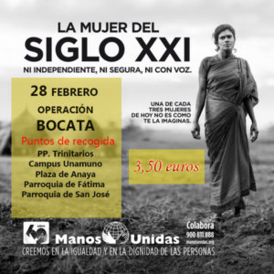 Salamanca Manos Unidas Operación Bocata 2019