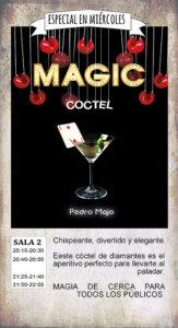 La Malhablada Magic coctel Salamanca Febrero 2019