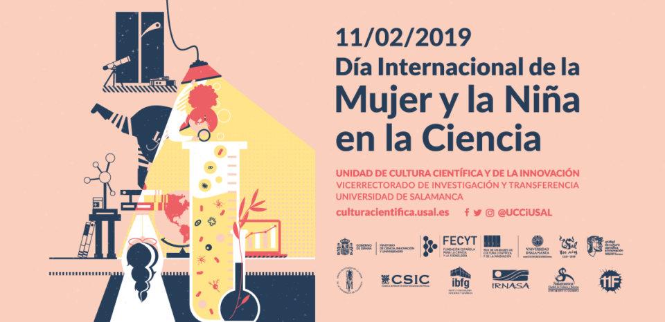 Día Internacional de la Mujer y la Niña en la Ciencia Salamanca 2019