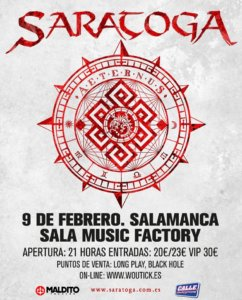 Music Factory Saratoga Salamanca Febrero 2019