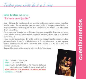 Torrente Ballester Silfo Teatro Salamanca Marzo 2019