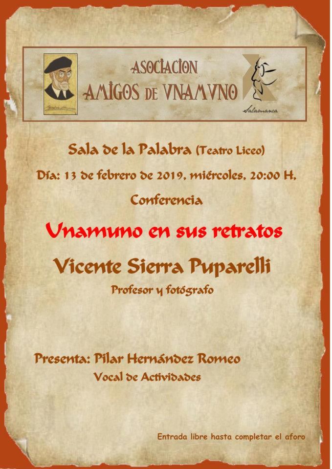 Teatro Liceo Unamuno en sus retratos Salamanca Febrero 2019