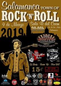 Centro de las Artes Escénicas y de la Música CAEM Salamanca Town of Rock'n'roll 2019 Conciertos Sala B Marzo