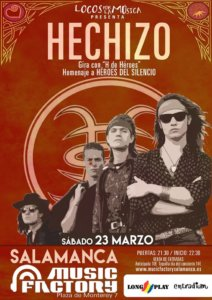 Music Factory Hechizo Salamanca Marzo 2019