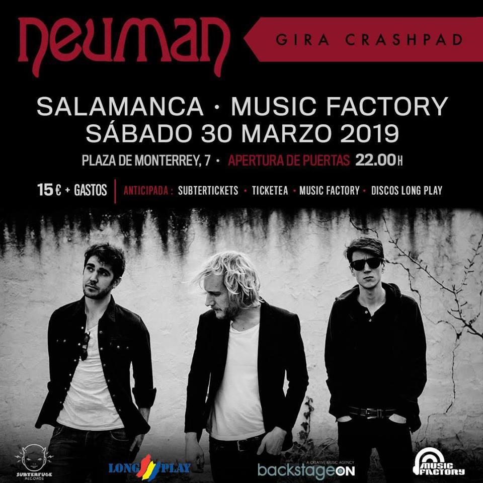 Music Factory Neuman Salamanca Marzo 2019