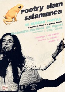 Tío Vivo Poetry Slam Salamanca Marzo 2019