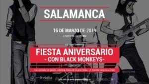 Centro Comercial Vialia Black Monkeys Salamanca Marzo 2019