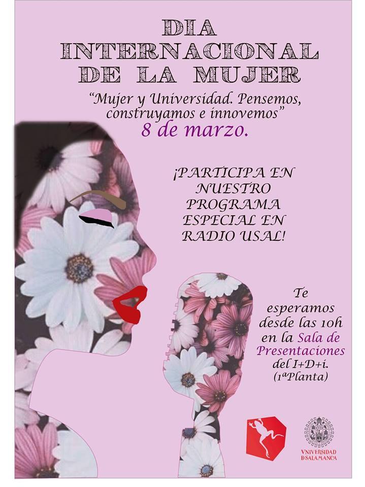 Edificio I+D+ i Día Internacional de la Mujer Radio USAL Salamanca Marzo 2019